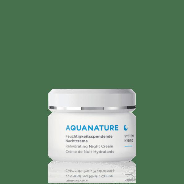 AQUANATURE Cremă de noapte cu acid hialuronic-1