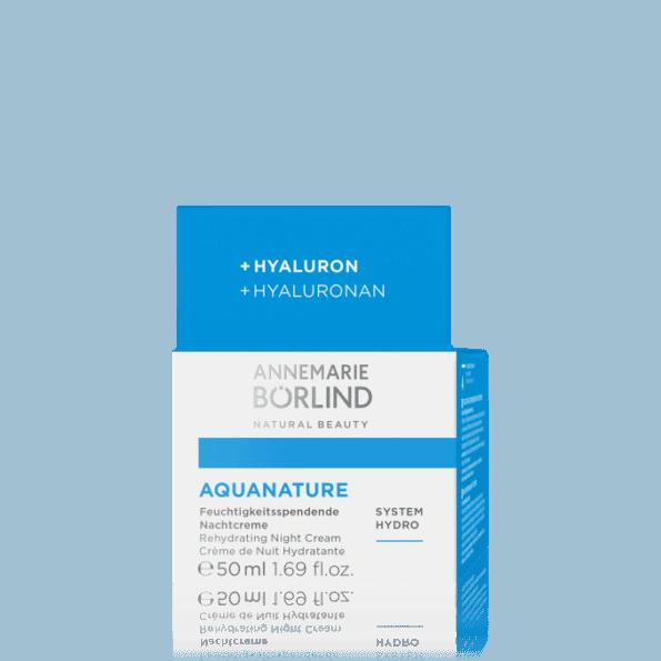 AQUANATURE Cremă de noapte cu acid hialuronic-2