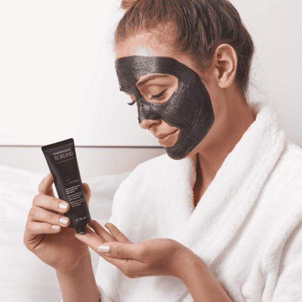 Mască facială BLACK 2 în 1-4