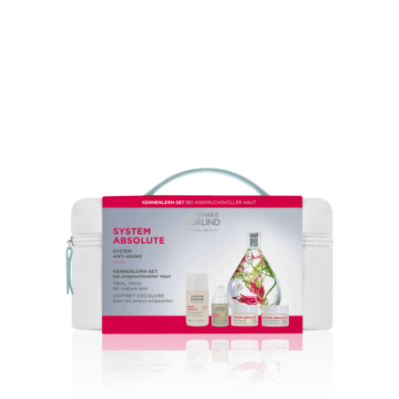 SYSTEM ABSOLUT Kit de îngrijire Rutina de îngrijire cu 4 produse pentru tenul matur